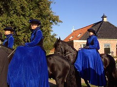 Lady Riders (Davydutchy) Tags: life 1920s ladies feest horse holland netherlands festival lady cheval 1930s village country nederland september riding agriculture pferd friesland agricultural horseriding paard countryfair friesian platteland paardrijden frisian frysln hynder nieuwehorne 2013 dorpsle
