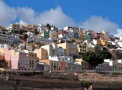 Las Palmas houses Gran Canaria (saxonfenken) Tags: 27thgrancanaria houses laspalmas grancanaria spain pastel colourful city town thechallengefactory thumbsupunam twothumbsup pregamewinner 1036s 1036 perpetual