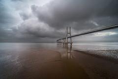 Portugal: Vasco de Gama (Simone Angelucci) Tags: bridge lisboa ponte lisbona d600 vascodegama mygearandme mygearandmepremium