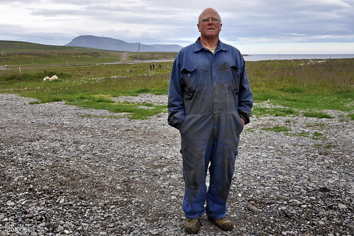 Old friend from the Past - Marinó Jónsson Miðfirði - Farmer and Mechanic
