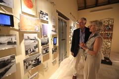 Nick and Helen Young at Casadella Memoria