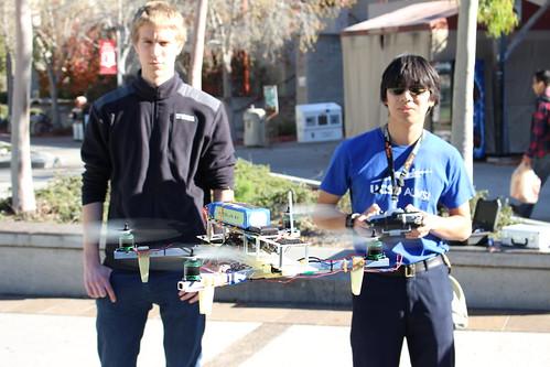 Testing the Quadcopter