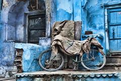 Jodhpur - la citt blu 6 (Gualtiero Fergnani 2014) Tags: india blu azzurro rajasthan jodhpur cittblu