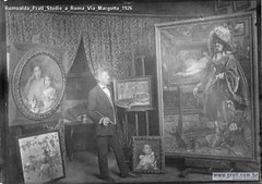 Romualdo Prati Studio a Roma Via Margutta 1926