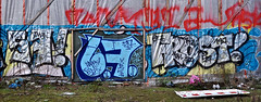 HH-Graffiti 1760 (cmdpirx) Tags: street urban color colour art public wall writing painting graffiti mural paint frost artist space raum wand character kunst strasse tag hamburg can spray crew hh writer hiphop hip hop piece aerosol 187 bombing legal wildstyle knstler fatcap ffentlicher