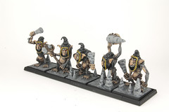 Stone Trolls with Hoods (revolution8) Tags: stone fantasy warhammer trolls whfb
