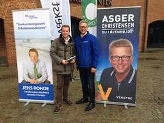 rsdelegeretmde i Landbrug & Fdevare - Asger (Jens Rohde) Tags: politik jens christensen asger kampagne venstre rohde landbrug uddeling