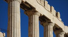 Capitals, south facade