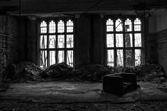 Abandoned (benchorizo) Tags: blackandwhite abandoned nikon ruins decay urbandecay chicagoist banias d90 citymethodistchurch benchorizo romeobanias