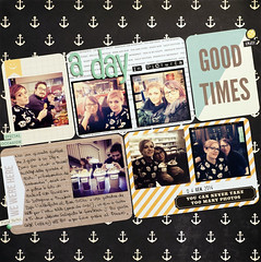 A DAY IN PICTURES-SKA 83 (enri_75) Tags: scrapbooking sketch scrap 83 sfide sketchalicious