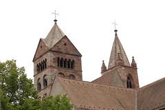 Eine feste Burg (gripspix (OFF)) Tags: church germany deutschland towers baden münster badenwürttemberg breisach 20130821