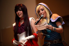 Jessica Nigri & Monika Lee (Gage Skidmore) Tags: arizona phoenix costume amazing comic jessica cosplay contest center lee monika convention con nigri 2014