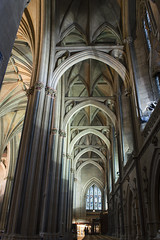 Bristol Cathedral pillars and arches - Explore 01 Feb 2014 (gideonc - Thank you for the 1,000,000+ views) Tags: uk architecture arches pillars bristolcathedral nikond3200 transept churchinterior southwestengland gideonc
