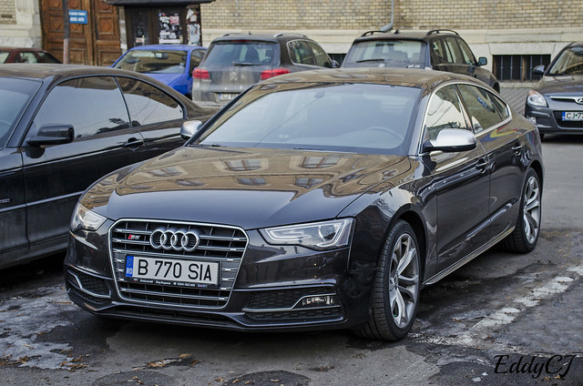 black car sport sedan model nikon europe d version class german romania segment middle audi coupe cluj napoca s5 2014 facelift sportback 2013 worldcars d5100
