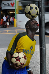 Fußball in Ipanema