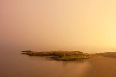Niebla (quinoal) Tags: longexposure sea beach rock fog sunrise mar rocks day playa niebla roca rocas mediterrneo 2304 mlaga orilla largaexposicin playadelamisericordia quinoal bestcapturesaoi elitegalleryaoi