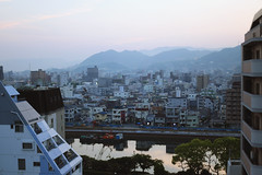 Hiroshima, Japan (Liisa Toomus) Tags: city travel rooftop japan asia view hiroshima wanderlust