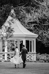 First Steps In A New Life (jymhitchcock) Tags: wedding blackandwhite bw groom bride marriage sandigemmawedding2014