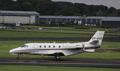 Cessna C560 (udaloy) Tags: uk airplane scotland aircraft aviation aeroplane cessna prestwick ayrshire prestwickairport glasgowprestwickairport c560 charliekirkpatrick