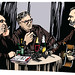 L'interview: Brel, Brassens, Ferré - Original Drawing HR