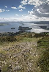 The way down (b13bhm) Tags: scotland lochlomond 6d balmaha conichill ef2470mm lochlomondandthetrossachsnationalpark