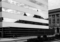 United Bank Building (RansomedNBlood) Tags: bw film 35mm blackwhite charleston wv westvirginia fpp contax137md eastmandoublex5222 filmphotographyproject