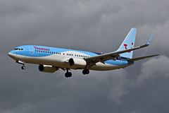 G-FDZS 737-8K5 (Ian Tate) Tags: ncl 737800 newcastleairport newcastleinternationalairport egnt boeing7378k5 thomsonairways gfdzs