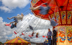 Daresbury steam fair rides 03 HD jul 14 (Shaun the grime lover) Tags: motion festival warrington cheshire fairground fair steam rides funfair hdr daresbury