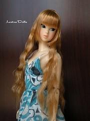 Momoko Menuette at Summer Getaway reroot (frapig) Tags: summer doll getaway honey blond custom rd saran momoko reroot menuette