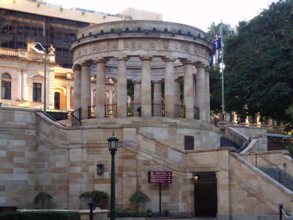 Brisbane War Memorial.
