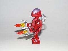 L8-L9 Battle droid - left (3d_predator) Tags: star republic wars custom clone droid gunship