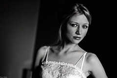 000035 (Pacoaletta) Tags: bw woman paris film me beautiful 35mm dark bed eyes noir pentax kodak trix lingerie blonde m42 boudoir argentique helios 44m