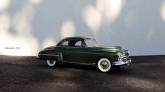 1949 Oldsmobile Futuramic Rocket 88 Club Coupe (JCarnutz) Tags: 1949 oldsmobile diecast rocket88 124scale danburymint
