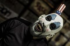 Tooty Fruity (micadew) Tags: clown clowns scary halloween spooky mask