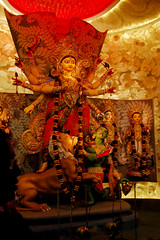 Shakti(The Power) (Biswajit Das Kunst) Tags: durgapuja2016 bengal catchycolor southeastasia travel discovery nationalgeographic moma art india calcutta folk people nikond40 perfectcomposition festival travelphoto woman durga gallery