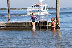 Fire Island Life, Fair Harbor (BruceLorenz) Tags: fire island ny new york long fair harbor great south bay water slat beach ferry ferries boilermaker boiler maker