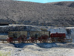 Harmony Borax Works #4 (jimsawthat) Tags: desert mojavedesert rural california deathvalleynationalpark mining borax wagon