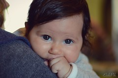 In your eyes. (erikzarcone) Tags: eyes portrait lens vintage pancake nikkor 50mm18 nikond7000 occhi felicit bellezza femmina neonato beb niece baby