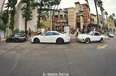 Porsche 997 GT2, 991 GT3, 911 Carrera (dj murdok photos) Tags: djmurdokphotos supercar woodlandhills mclaren porsche 675lt 997 991 911 gt2 gt3 sony alpha a7ii 16mmfisheye