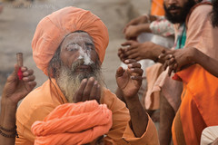Holy Man (Nitin Naik Photography) Tags: sadhu naga holy people photography streetphotography india kumbhmela2015