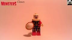 Clown (Random_Panda) Tags: lego figs fig figures figure minifigs minifig minifigures minifigure purist purists character characters horror halloween clown