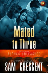 Mated To Three (CoverReveals) Tags: paranormal romance mnage mfmm shifters bears