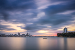 Late Spring Evening, Stanley Bay (duncan_mclean) Tags: lee 10stop landscape sunset nd city cityscape evening auckland filters longexposure devonport bigstopper seascape sky stanleybay colours leefilters