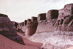 Fortress at Buhen (nubianimage) Tags: nubianimagearchive nia archaeology desert nubia