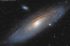 M31 Galassia di Andromeda (Salvatore Cozza) Tags: m31 greatnebulainandromeda ngc224 m32 ngc221 m110 ngc205