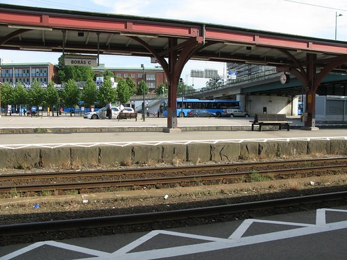 Borås railway station 2010 (1)