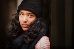 Priyanka [Stranger #16/100] (Vijay Britto Photography) Tags: green eyes indian south africa beautiful skin brown gaze 85mm 18 d750 100strangers outdoorportraits naturallight