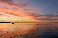 Di sole e d'azzurro (boisderose) Tags: sunset tramonto luce light mare sea trieste 2016 boisderose 343nov302016 explore