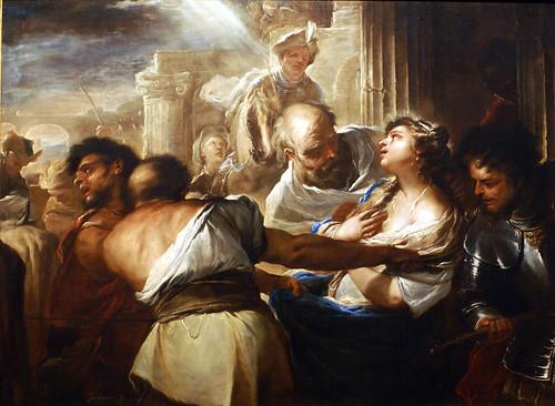 Luca Giordano, Martyrium der hl. Lucia (Martyrdom of St. Lucy)