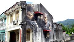 Heritage Street Art (stardex) Tags: art architecture building balikpulau penang street streetart malaysia heritage mural